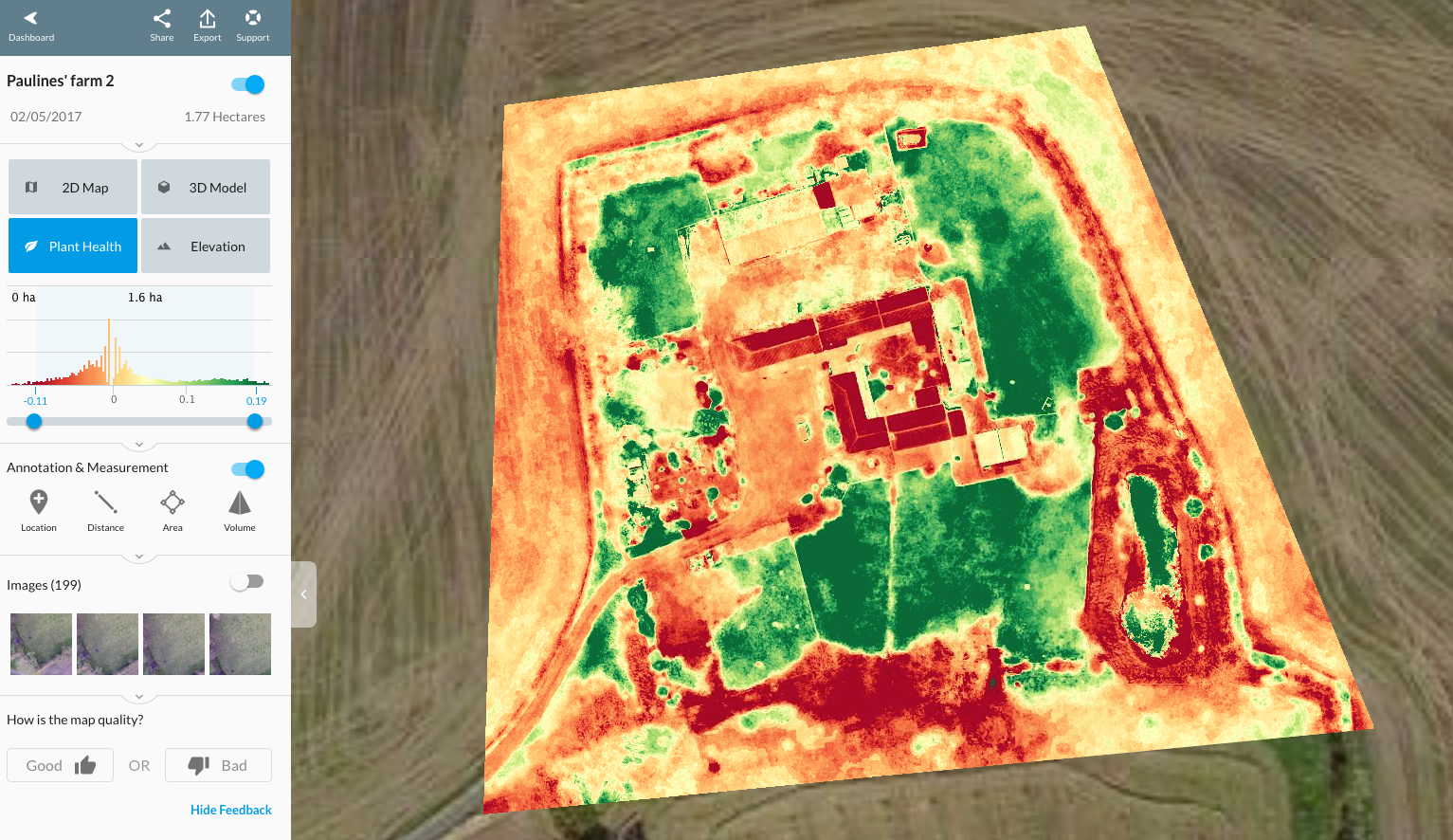 Drones in Agriculture | Precision Agriculture with NDVI